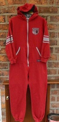 Boys Georgio Red Jump Suit - Age9/10 Years