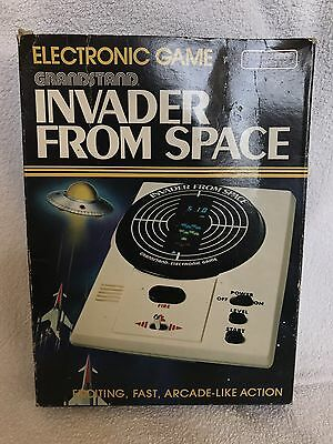 Grandstand Invader From Space Electronic Game Boxed With Instructions