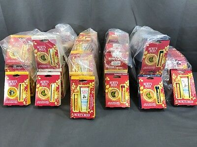 Burts Bees Wholesale Lot Quantity of 84 New Gift Sets Mixed Flavors