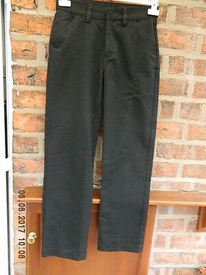 Boys Black Trousers By Next Size 13 Years