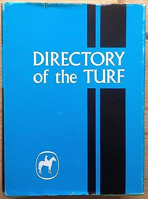 Directory Of The Turf 1973 Edited By Peter Tower-Clark Amd Michael Ross