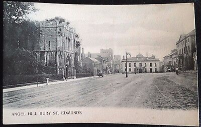 "Vintage Postcard ""angel Hill Bury St Edmund's"""