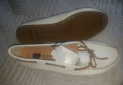 BNWT ladies womens loafers shoes leather size 7 eur 41
