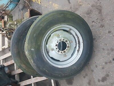 Massey etc front tractor wheels and weights