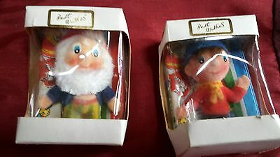 vintage noddy and big ears  figure with hanchief unopened