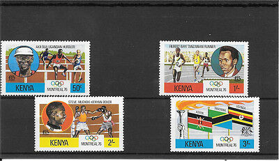 Kenya  Umm Set Of Stamps C016