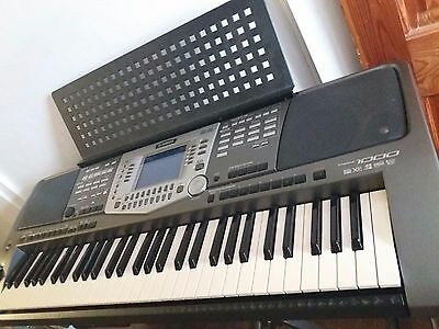 Yamaha  psr-1000 keyboard with stand, case and pedal