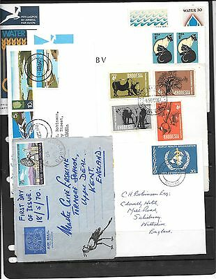 Africa Stamps On Covers C566