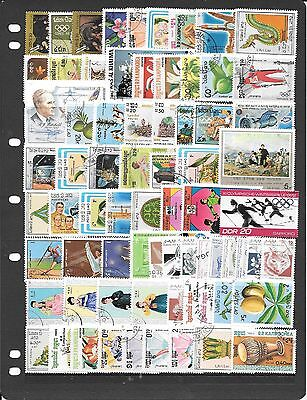Thematic Collection Of Mixed Stamps J072