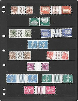Switzerland Coll Of Used And Unmounted Mint Stamps J078