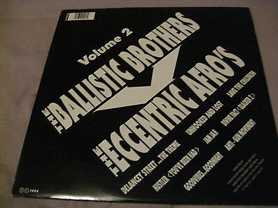 The Ballistic Brothers Vs. The Eccentric Afros* ‎– Volume 2 - LP