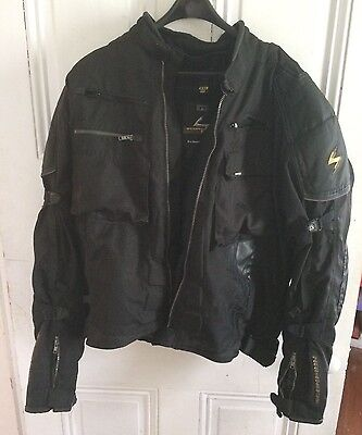 Mens Scorpion EXO XDR Waterproof Motorcycle Jacket Size XXL- Great Condition