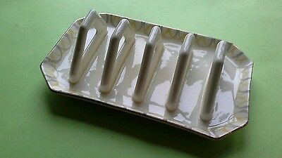 Collectable Salisbury China 4 Slice Toast Rack