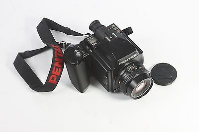 Pentax 645 outfit ( body, lens, insert, strap) avg to good