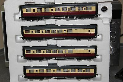 Hornby Made In China Rake Of 4 Br (Ex Lner) Coaches Ex Train Set
