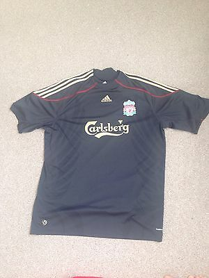Men's Liverpool FC 2009-2010 Away Shirt XXL