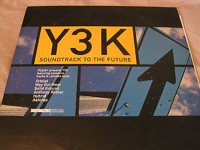 Hyper Presents Y3K: Soundtrack To The Future (Part Two) 2 X LP (Y3K002XLP)