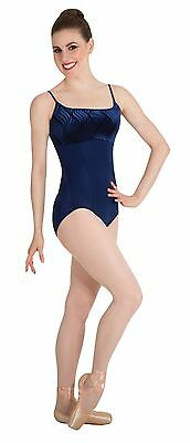 Body Wrappers Women's Navy Camisole Leotard Size  Small