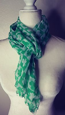 Lucky clover women's st Patrick's day scarf