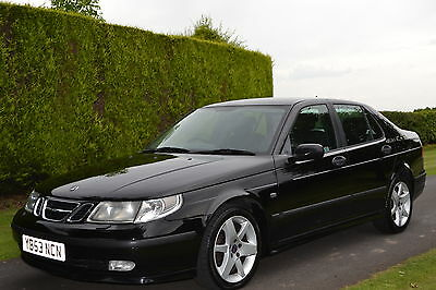 """2003 """"53"""" SAAB 9-5 2.0t VECTOR AUTOMATIC TIPTRONIC..13 STAMP SERVICE HISTORY,"""