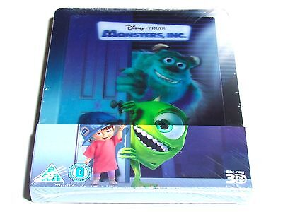 MONSTERS INC 3D Blu-Ray Steelbook Limited Edition ...