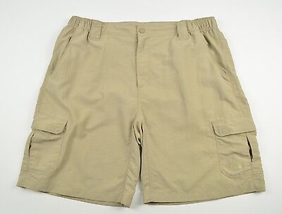 THE NORTH FACE Mens Shorts Trousers Outdoor Beige Trekking Hiking Camping sz XL