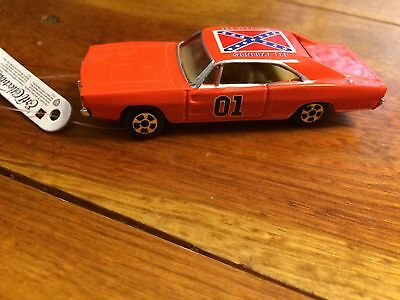 ERTL Dukes of Hazzard Replica General Lee car Dodge Charger 1/64 scale
