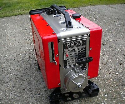 Mosa Magic 150 Amp Portable Welder Ms-150-N With Leads Steel Gate Fabrication