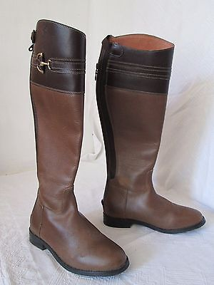 All Leather Riding Yard Boots Size Uk 5