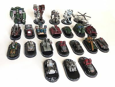 52 pc. Wizkids MechWarrior Battletech Lot Vehicles Dark Age Clix Figures
