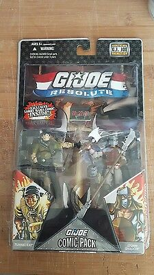 G.I. Joe Resolute 2 pack action figure rare