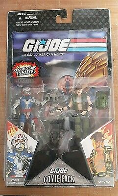 G.I. Joe 2 pack action figure comic