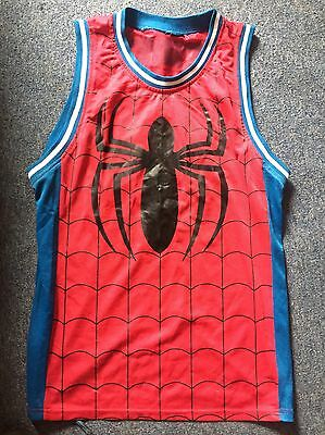 Spider-Man Basketball Jersey Costume Cosplay