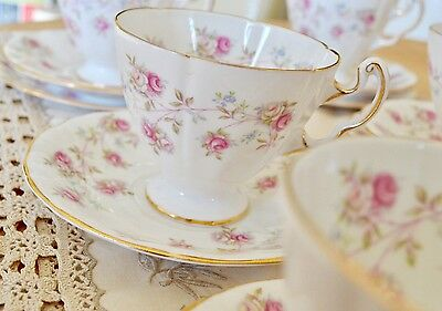 "Royal Adderley ""Harmony Rose"" Part Tea Set In Good Condition"