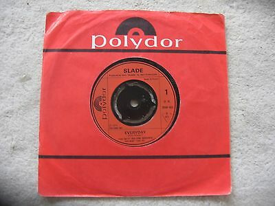 "Slade - Everyday   Original 7"" Single Vinyl Glam Rock"