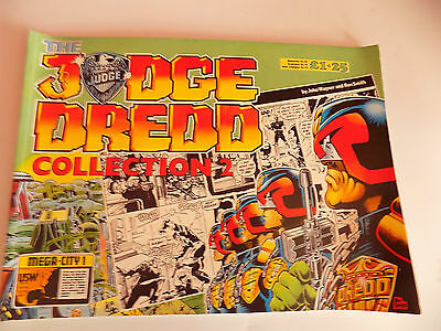 The Judge Dredd Colletion 2 + 3, and 2000 AD sci-fi special