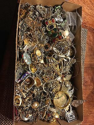 vintage to now craft and repurpose jewelry lot 14 plus pounds