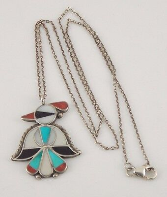 Vintage Pawn / Southwestern Sterling Silver Bird Necklace