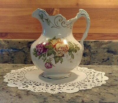 Vintage Buffalo Pottery Pitcher