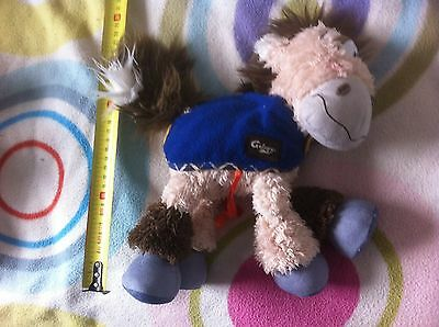 Diddl   Galupy  Cheval Poney    Doudou Peluche     Aa8