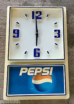 Pepsi Cola Clock   Not working
