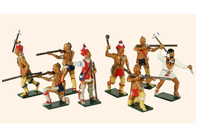 'Tradition soldiers' 610 Toy Soldiers Set American Woodland Indians