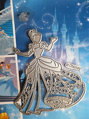 Disney Princess Dies - Captivating Cinderella die with Face Stamp