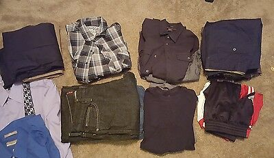 Large Lot of Young Mens Clothes