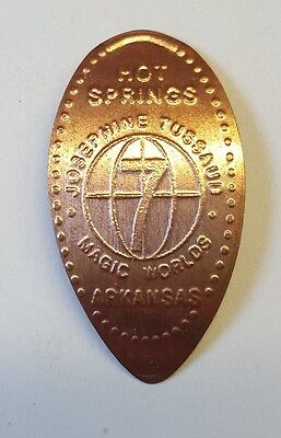 Hot Springs Arkansas elongated coin/smashed coin/stretched coin