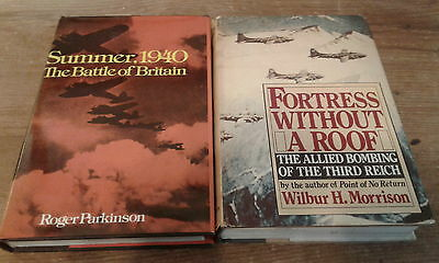 2 books about WW2: Summer, 1940 The Battle of Britain & Fortress Without A Roof