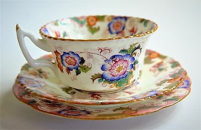 Beautiful Coalport Trio, Cup, Saucer and Side Plate