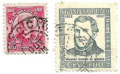 BRAZIL early stamps (Used)