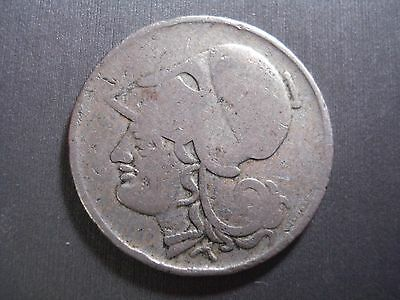 Greek Greece 1926 2 Drachma coin Athena