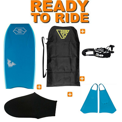 Pack Bodyboard Sniper Swift PE Bleu - PROMO